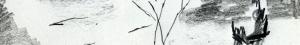 07_Amandier en fleurs et l'ânier croquis bandeaux