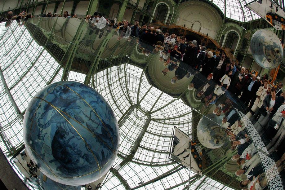 12 ous la verrière du Grand Palais