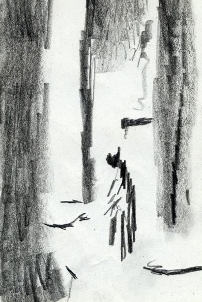 14_Homme entre les colonnes copie