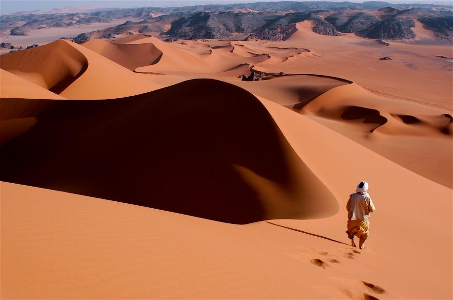 22 Piéton du sahara