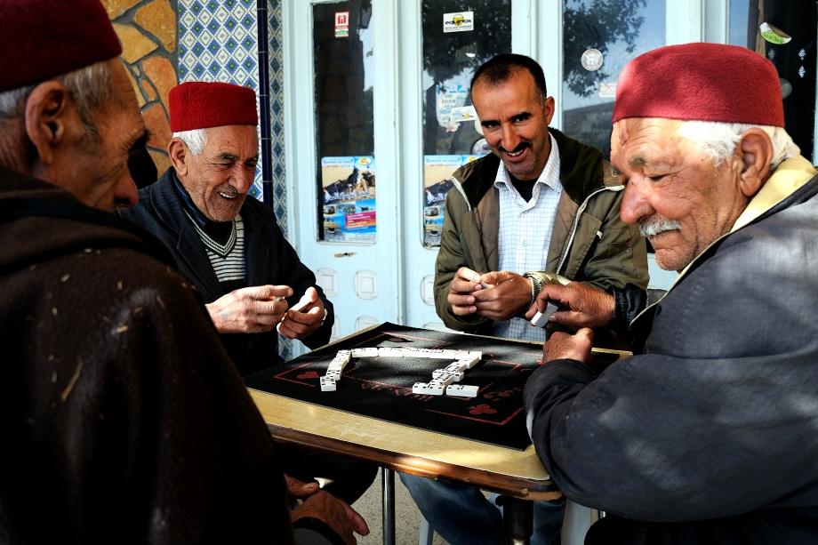 40 Partie de dominos tunisienne