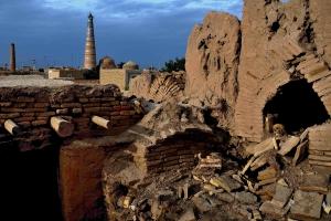 Mourir à Khiva ouzbékistan